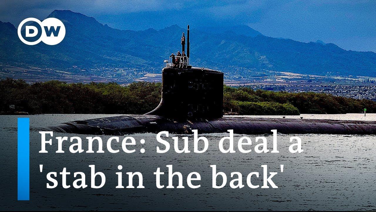 France recalls ambassadors to US Australia over AUKUS submarine deal  DW News
