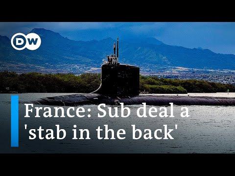 France recalls ambassadors to US, Australia over AUKUS submarine deal   DW News