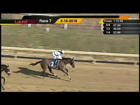 LAUREL PARK 3 10 18 RACE 7