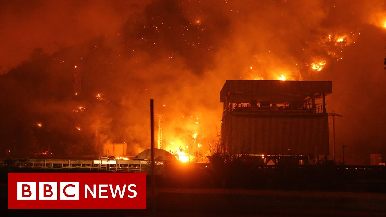 Download Wildfires devastate Turkey and Greece in 'worst fire crisis in a decade' - BBC News
