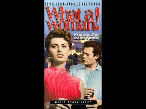 Lucky to Be a Woman / What a Woman! -1956 (La fortuna di essere donna)