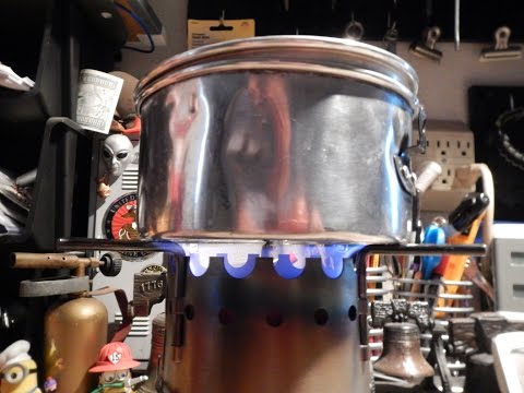 Vulcan Safety Chef Camp Stove - DIY Fuel Can - Boil Test