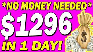 EARN $1296 PER DAY FOR FREE!💰 NEVER SEEN BEFORE METHOD: MAKE MONEY ONLINE 2020!
