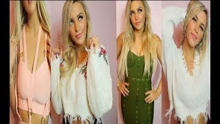 Sexy Valentines Day Date Night Clothing Haul FT Zaful!