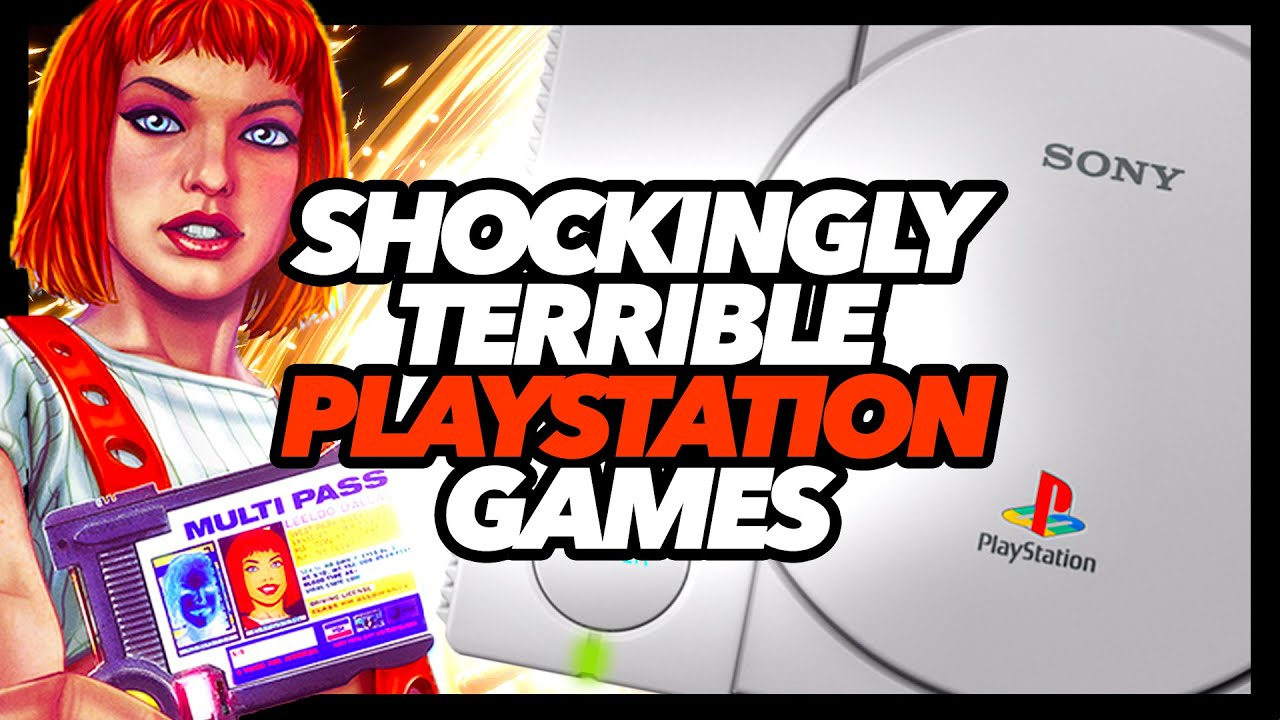 Shockingly Terrible PS1 Games