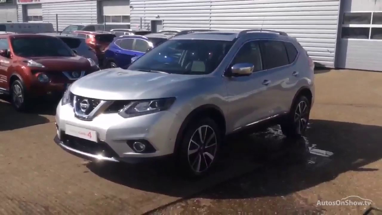 nissan x trail dci tekna xtronic silver 2016 youtube. Black Bedroom Furniture Sets. Home Design Ideas