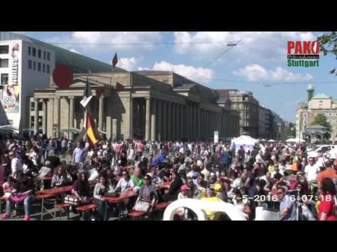 Palestine Nakba Day 2016, Stuttgart, Germany - 7th May 2016