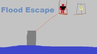 Roblox no commentary: Flood Escape!