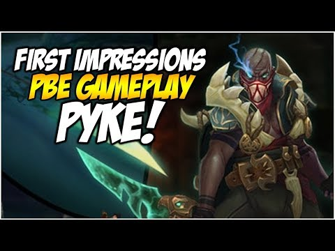 PYKE GAMEPLAY! IS HE SCARY OR NOT? (First Impressions) | League of Legends thumbnail