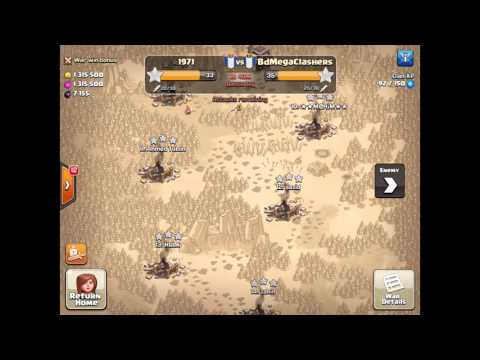 Khadiza Featuring Clan Wars| Clash of Clans| 1971vsBdMegaClashers|BD top Clan war|