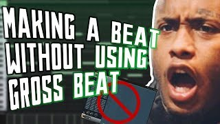MAKING A SOUTHSIDE TYPE BEAT WITHOUT GROSS BEAT | NO GROSS BEAT CHALLENGE