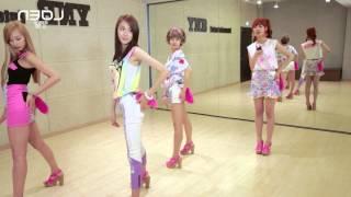 mirrored pitapat bestie 베스티 dance tutorial