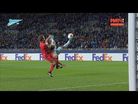 «G-Drive. Лучший гол первой части сезона»: Иванович забивает ударом через себя - видео онлайн