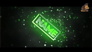 NICE Green Sync Intro #005 Template by MonkiiArtz [C4D&AE]