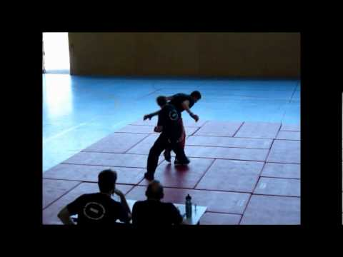 passage de grade gant blanc savate baton defense PARTIE 1