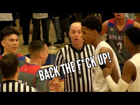 Shareef O'Neal Gets Heated In PLAYOFF BUZZER BEATER FINISH with Bol Bol & Josh Christopher  Watching