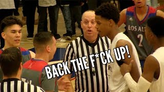 Shareef O'Neal Gets Mad @ Big Baller BUZZER BEATER FINISH with Bol Bol & Josh Christopher  Watching