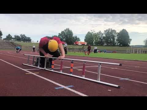 17.06.2018 Trinec - stafeta 4 x 100 m muzi HZS