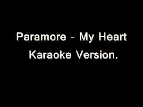 Paramore - My Heart Karaoke Versión (Instrumental)