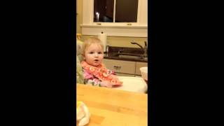 Baby Wants Her Ice Cream!