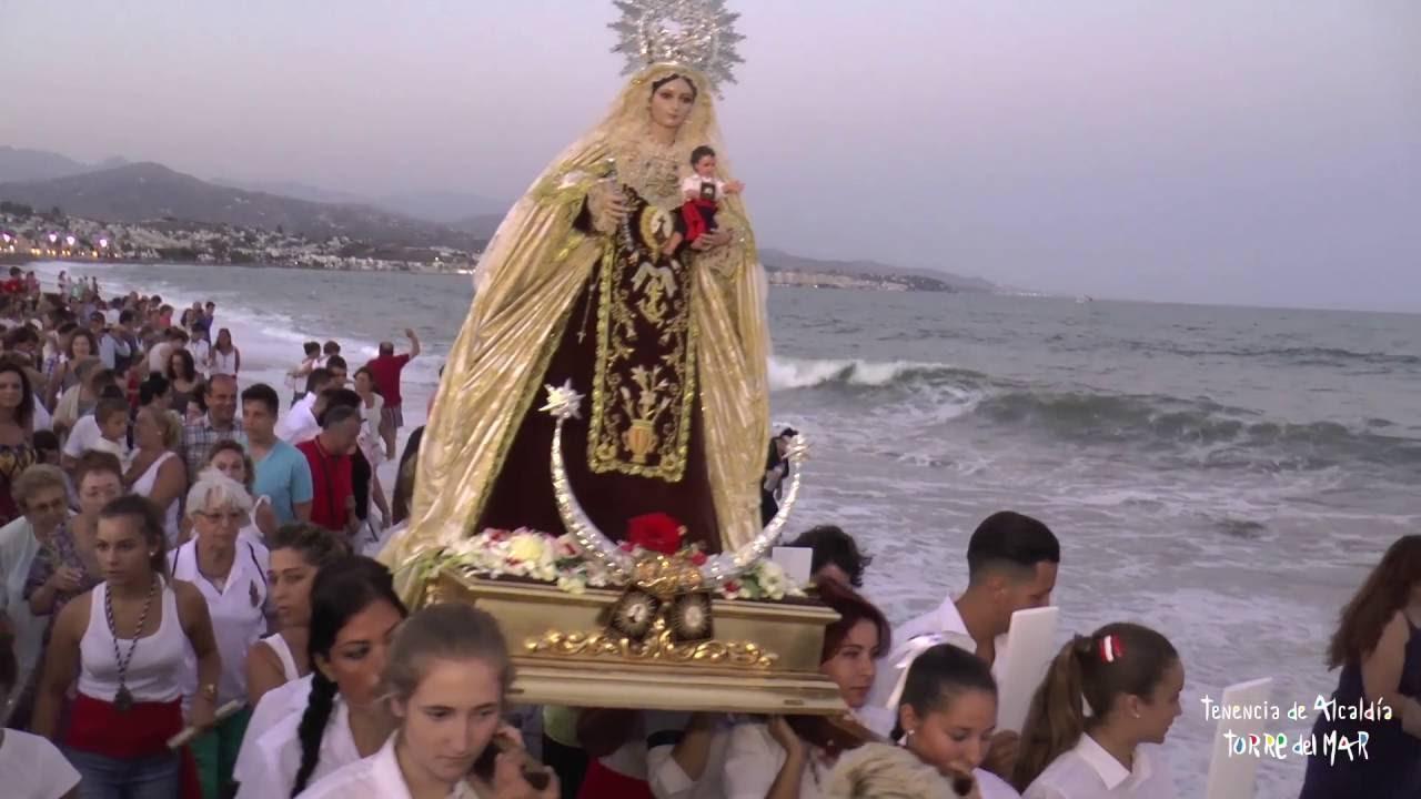 Billedresultat for procesión marítimo-terrestre en honor a la Virgen del Carmen de las Melosas y Protegidas