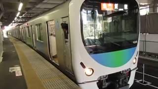 西武30000系所沢駅発車