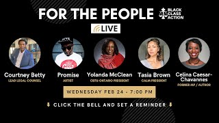 "BCA Presents: ""For The People"""