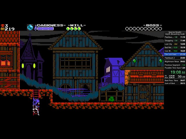 Specter Knight Any% Speedrun 39:24