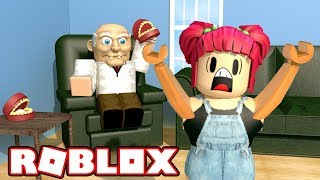 ROBLOX! ESCAPE FROM MY CRAZY GRANDPA! | Amy Lee33