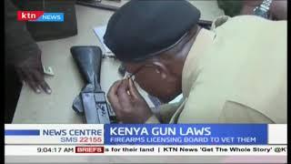 Civilian gun holders will undergo a fresh verification exercise of their firearm certificates