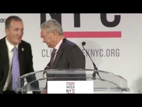 Climate Week NY˚C 2010, Opening Ceremony: George Soros