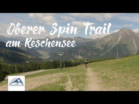 Oberer Spin Trail (Nr. 94) - 3 Länder Enduro Trail am Reschenpass