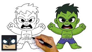 How To Draw The Hulk | The Avengers