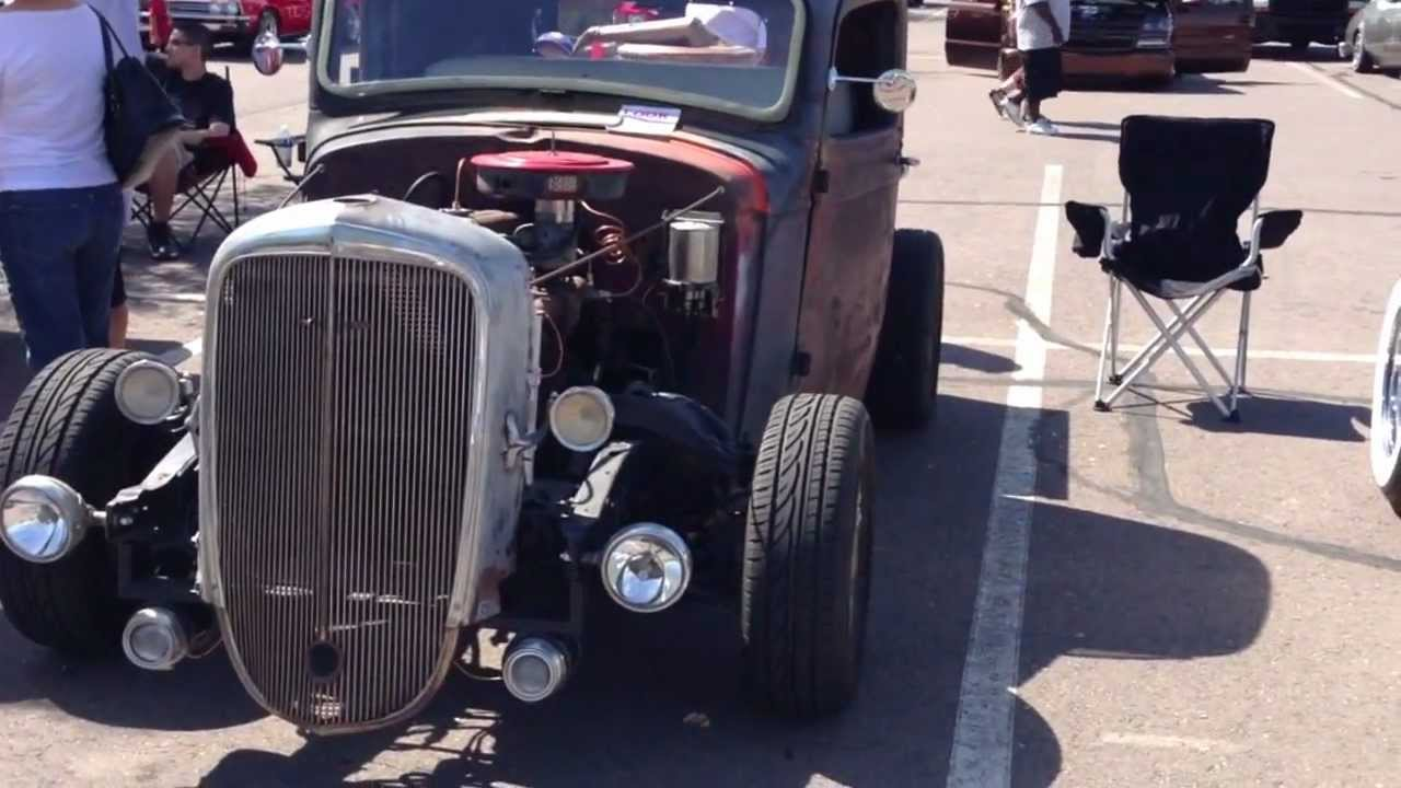 1936 Chevy Rat Rod Pick-Up Truck - YouTube