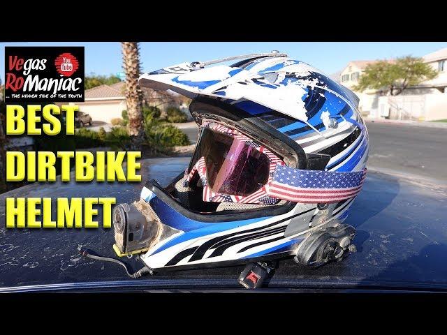 Broken YAMAHA - WHY 4 Stroke makes me FASTER - Best Dirtbike Helmet LS2