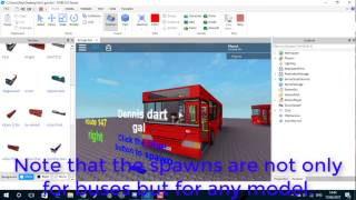 How to add your own route signs and bus spawns to ROBLOX