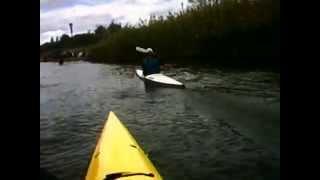 Epic 18x Sea Kayak Finish Sprint At K1 Race
