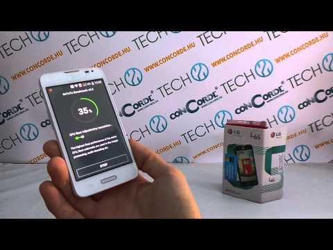 LG L65 AnTuTu benchmark video