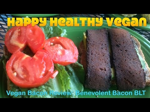Vegan Bacon Review: Benevolent Bacon BLT