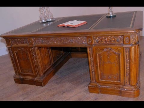 United States Presidents Resolute Desk Oval Office YouTube