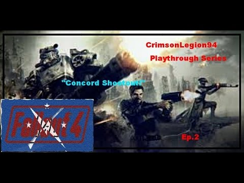 Fallout4 Modded Ep2. Concord Shootout!