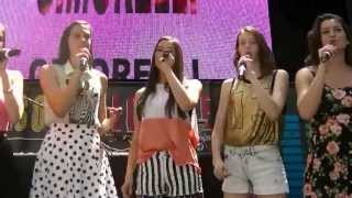 "Cimorelli preforming ""Party In The USA"" at Mall of America"