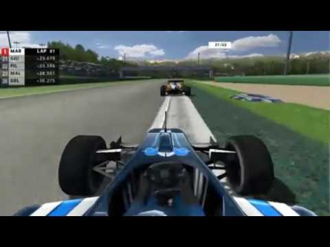 rFactor - TJemme Cup 2011/2012 - ROUND 01 - Italy -  Race