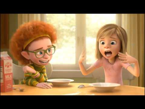 Inside Out - Riley funny moments - 1080p HD
