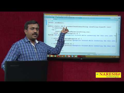 How To Convert Java Object Into JSON And JSON Into Java Object | Session-3 | Mr. Satish B