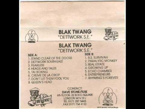 Blak Twang - Fearless (Original Version) (1996)
