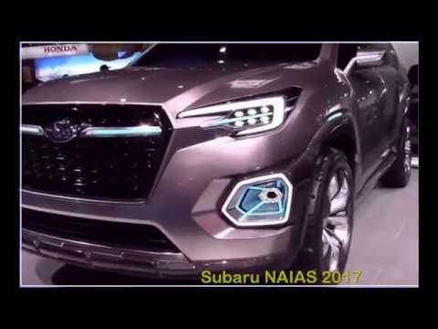 Subaru Naias 2017 2018 Wrx Sti Debuts At