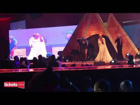 AFRIMA 2015: Waje, Victoria Kimani, Others Thrill Guests With Strong Girl Performance