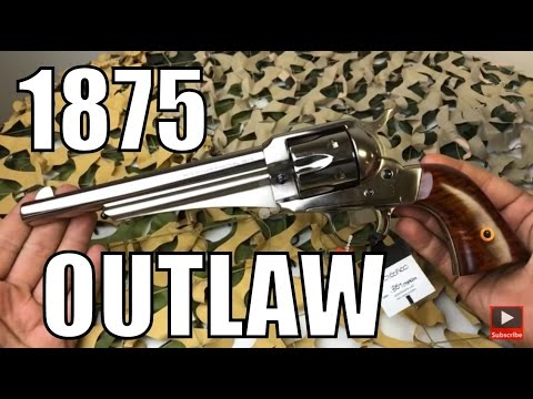 Taylor Uberti 1875 Outlaw Single Action  357 - YouTube