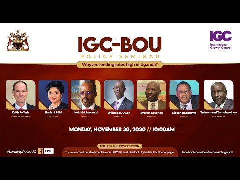 IGC-BOU POLICY SEMINAR: Why are Lending Rates High in Uganda?